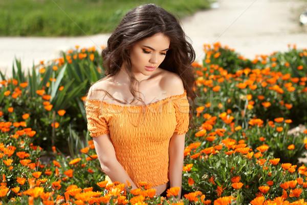 2950221_frumos-femeie-păr-flori-câmp-în-aer-liber